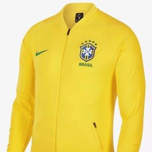Nike Brasil Brazil 2018 Anthem Jacket World Cup